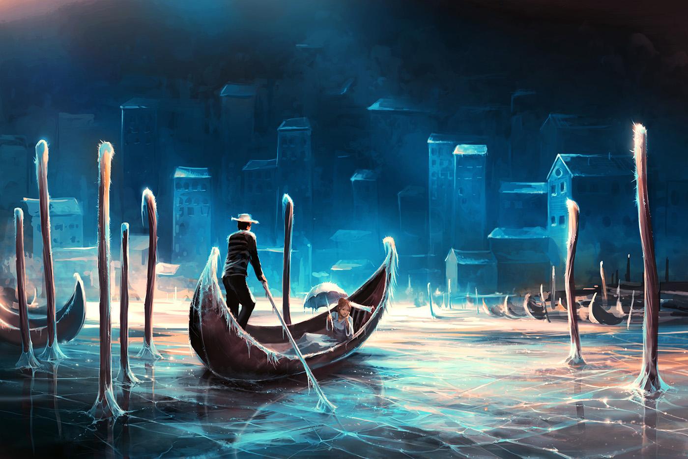 A long depression by AquaSixio on DeviantArt
