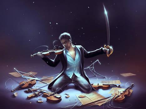 Outburst of violince