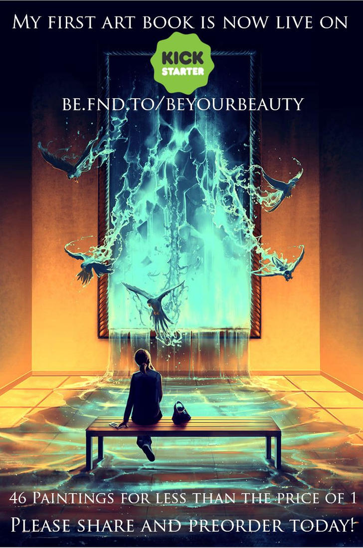 My first Art book Be your Beauty by AquaSixio