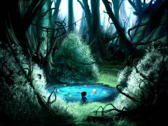 Strangled Oasis by AquaSixio