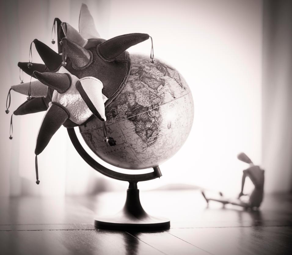 Peut-on ne pas devenir fou dans un monde fou ? by SHA-1