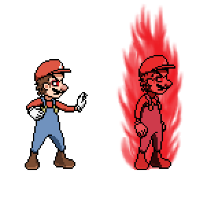 Devil Mario Base And Full Form By Supermynci On Deviantart