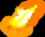 Fire Flame Clear-Cut