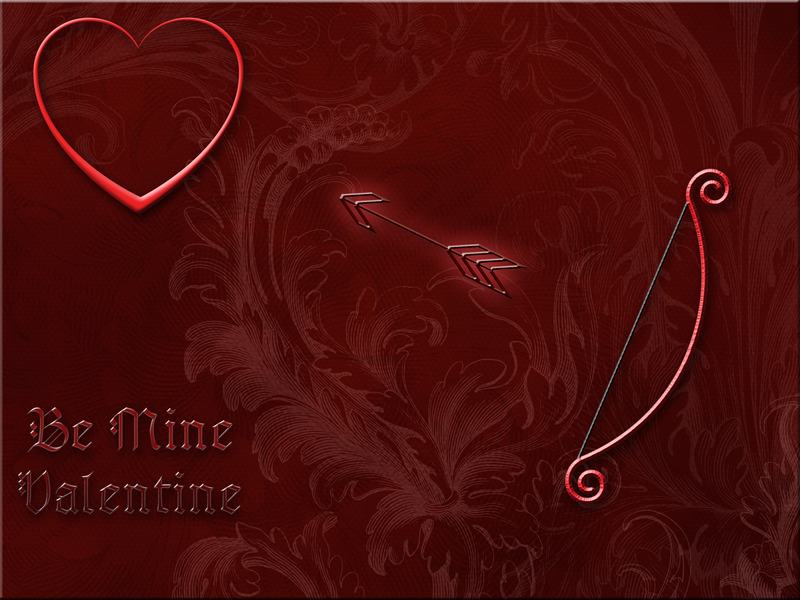 Arrow to the Heart Valentine by TheStockWarehouse