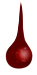 Blood Drop 3 by TheStockWarehouse