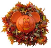 Fall Harvest Mickey Pumpkin IMG 2686 by TheStockWarehouse
