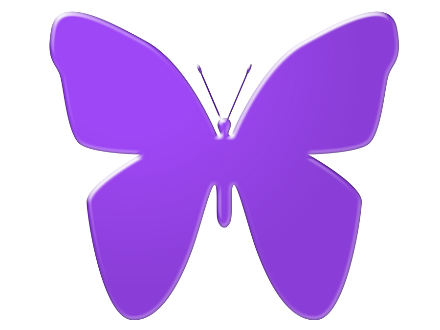 Purple Cartoon Butterfly   www.imgkid.com - The Image Kid ...
