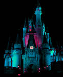 Castle in Teal IMG 1160 by TheStockWarehouse
