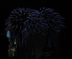 Castle Fireworks Show IMG 1082