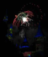 Castle Fireworks Show IMG 1102