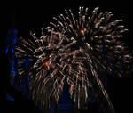 Castle Fireworks Show IMG 1105