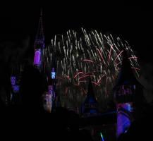 Castle Fireworks Show IMG 1117