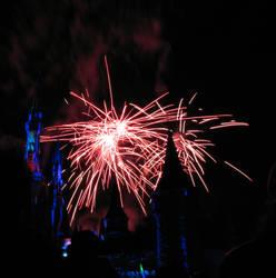 Castle Fireworks Show IMG 1130