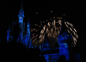 Castle Fireworks Show IMG 1141