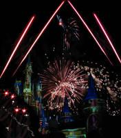 Castle Fireworks Show Premade IMG 1066