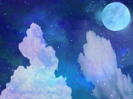 Night Sky Premade V2 by TheStockWarehouse