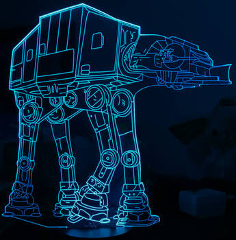 Blue AT-AT IMG 3822 by TheStockWarehouse