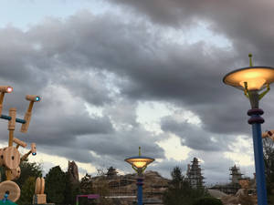 Toy Story Land Dark Clouds IMG 4531