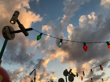 Toy Story Land Lights Overhead IMG 4515