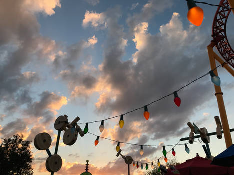 Toy Story Land Lights Overhead IMG 4521