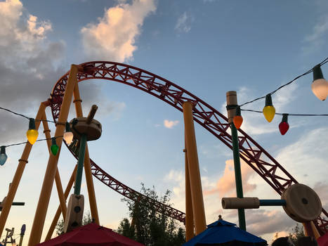 1 Toy Story Land Roller Coaster IMG 4516