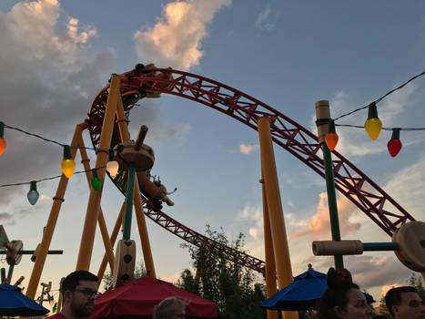3 Toy Story Land Roller Coaster IMG 4518