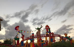 6 Toy Story Land Roller Coaster IMG 4539