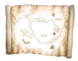 Pirate Map 1