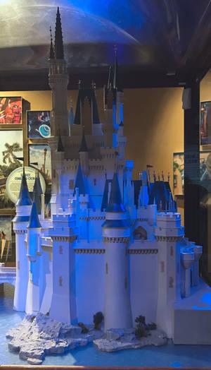 Cinderella Castle Model IMG 4697