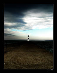 Presque Isle Lighthouse 2 by InsanitySuccess