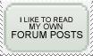 Forum Posts stamp by DigitalMenace