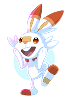 Scorbunny by Dreaming-Roses