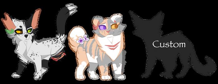 Warrior Cat Adopts 2 ~ Set Price [CLOSED]