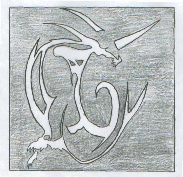 Dragon Tribal Tattoo
