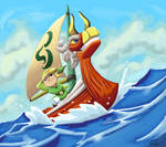 The Legend Of Zelda Wind Waker by Rasmussen891