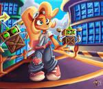 Coco Bandicoot 4