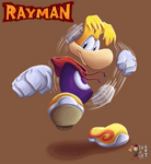 Rayman charge your fist
