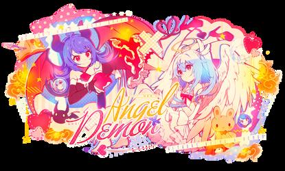 Angel and Demon collab w/nogi