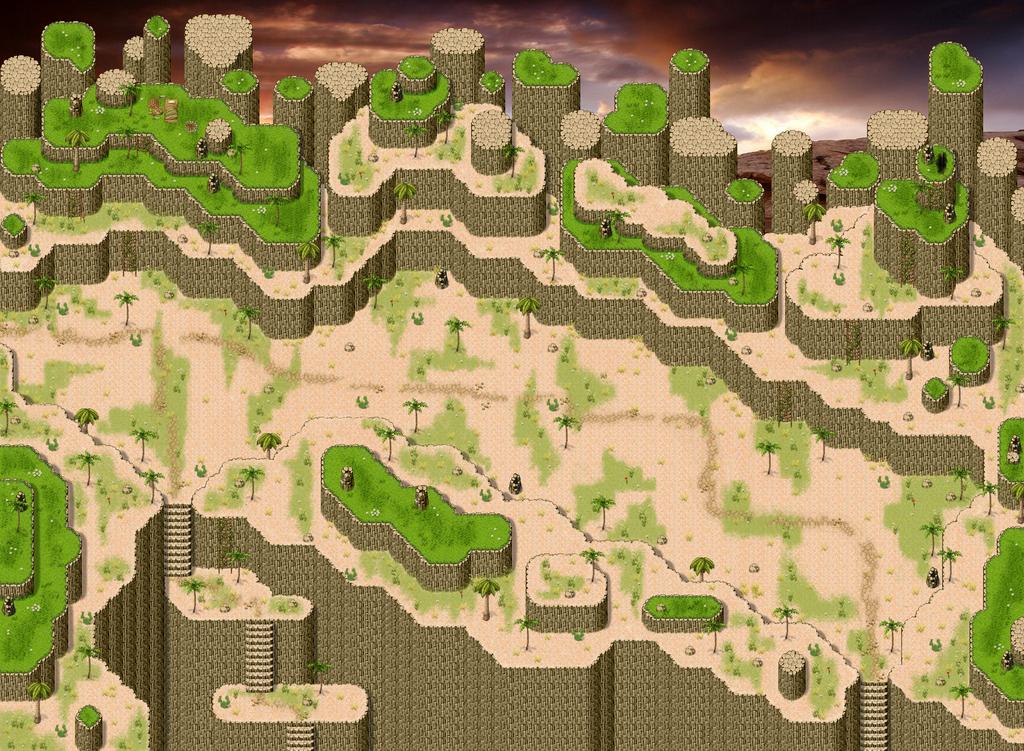 Desert Map Rpg Maker by ChampGaming on DeviantArt