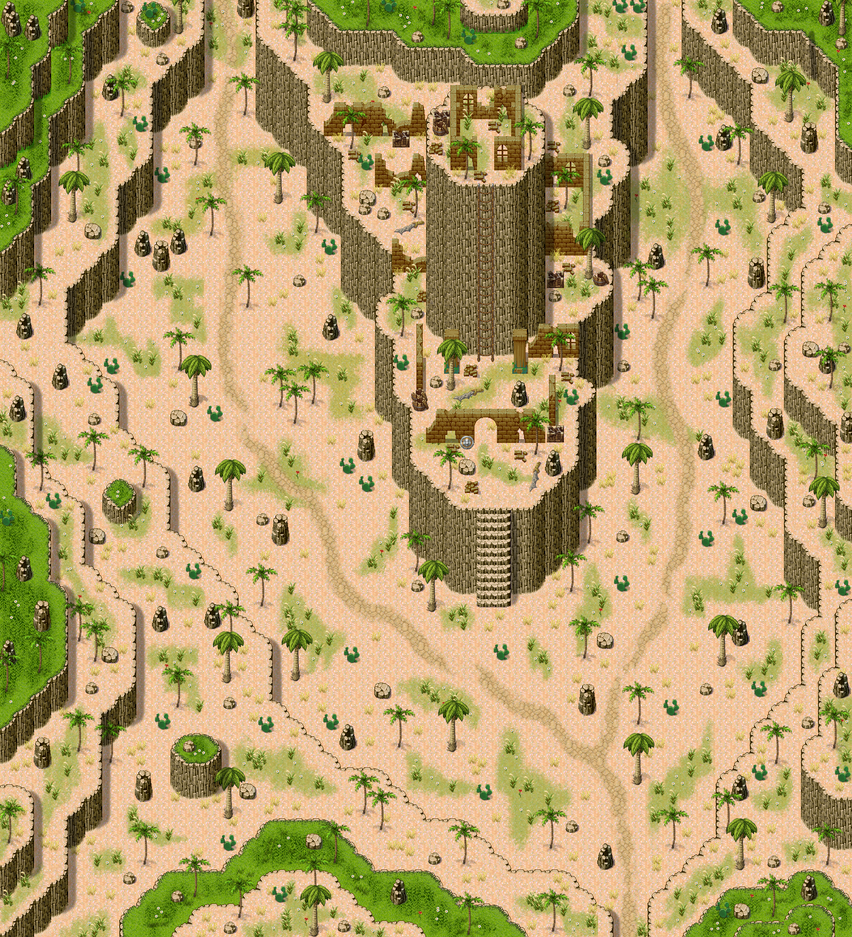 rpg maker desert tower and map by ChampGaming on DeviantArt