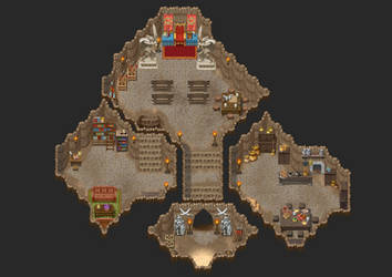 rpg maker desert cave fortress by ChampGaming