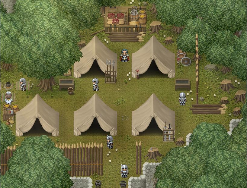 Hakovo Army Camp by ChampGaming