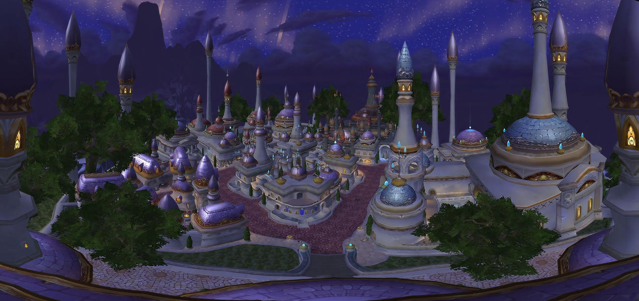 how to get to dalaran from kalimdor