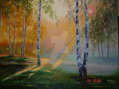 From birch - all Russia is born by LudmilaBerdnikova