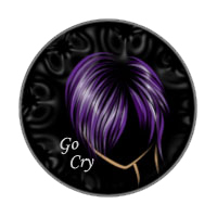 Emo Button by LadyDarque