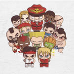 Street Fighter! by ponkyponky