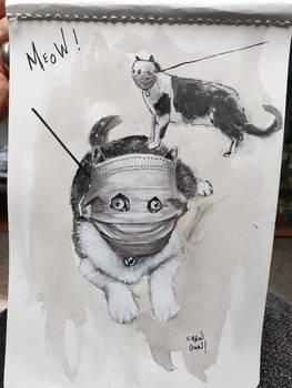 mask kitty