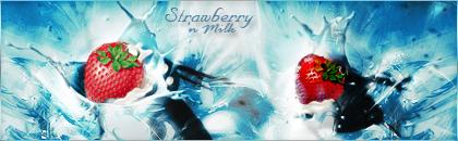 Strawberry 'n Milk by mceric