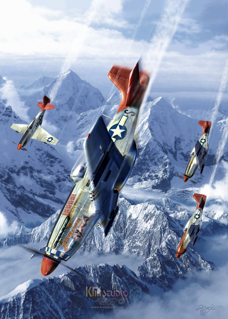 Tuskegee Airmen by KMIStudio