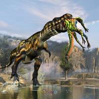 T-Rex Appetizer by KMIStudio